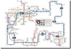 台湾鉄道-map